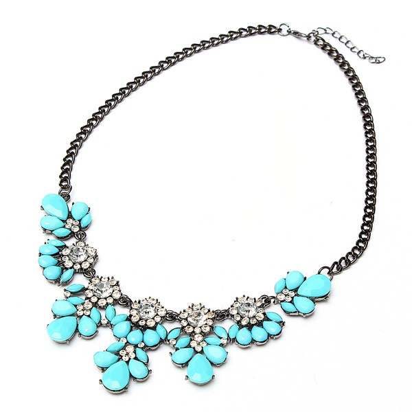 Metal Chain Choker Necklace