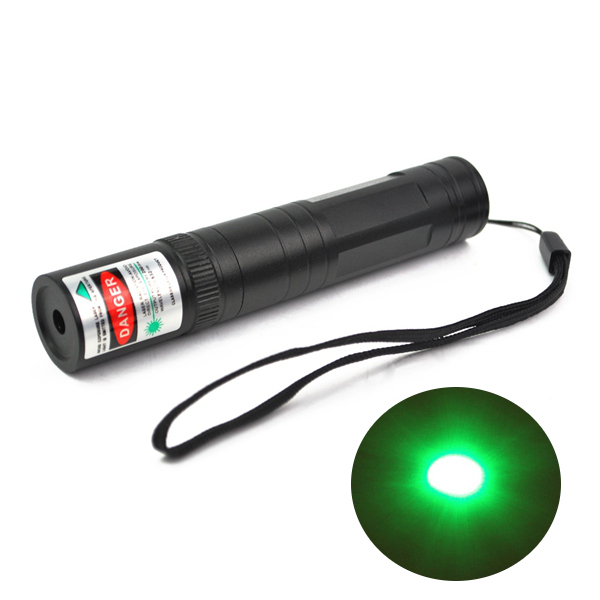 LT-850 532nm Green Light Laser Pointer Flashlight 1*16340 1mw/5mw