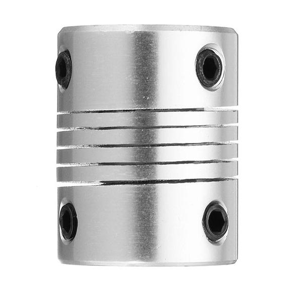 Machifit 6.35mm x 10mm Aluminum Flexible Shaft Coupling CNC Stepper Motor Coupler Connector