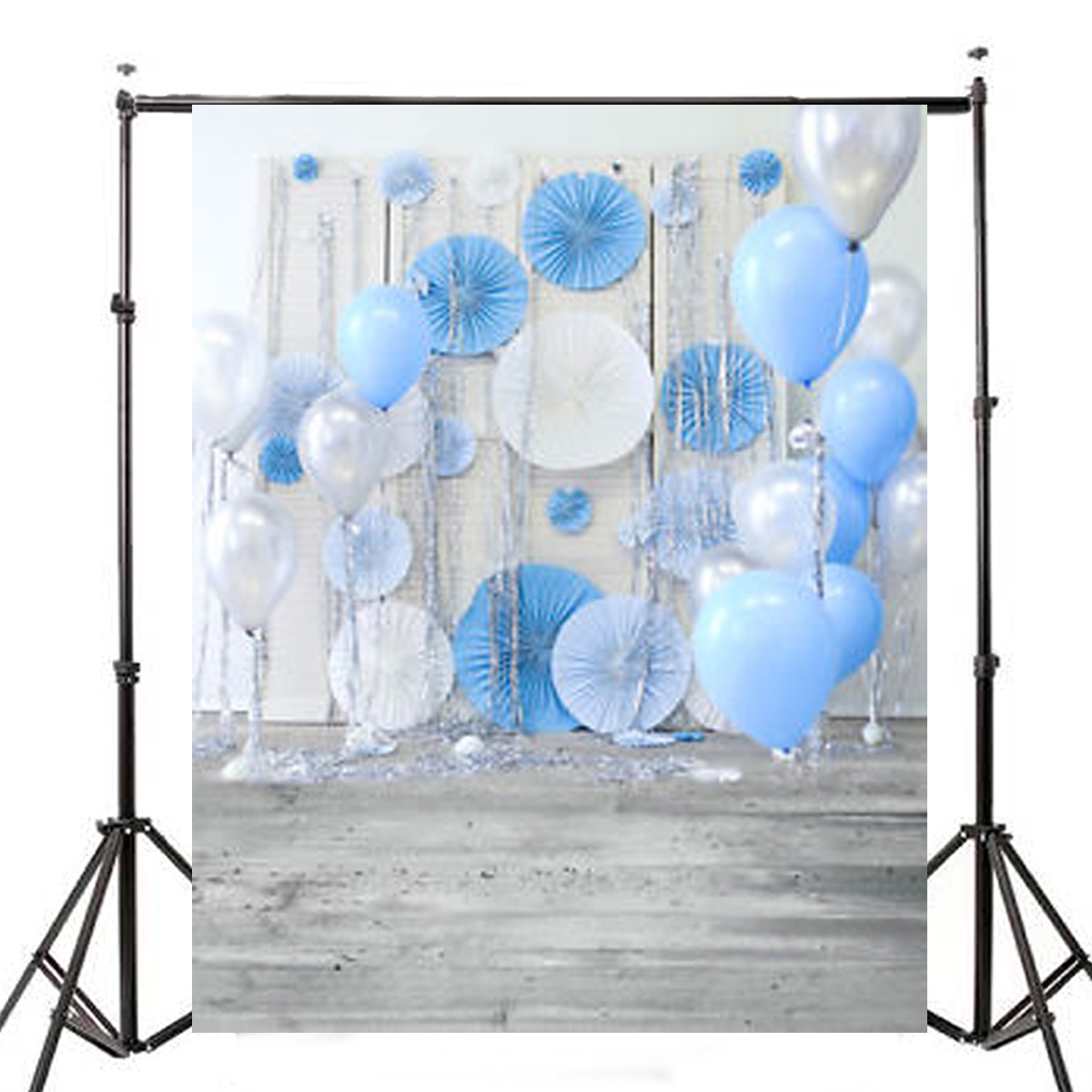 3x5ft Balloon Wall Baby Photography Vinyl Background Bo