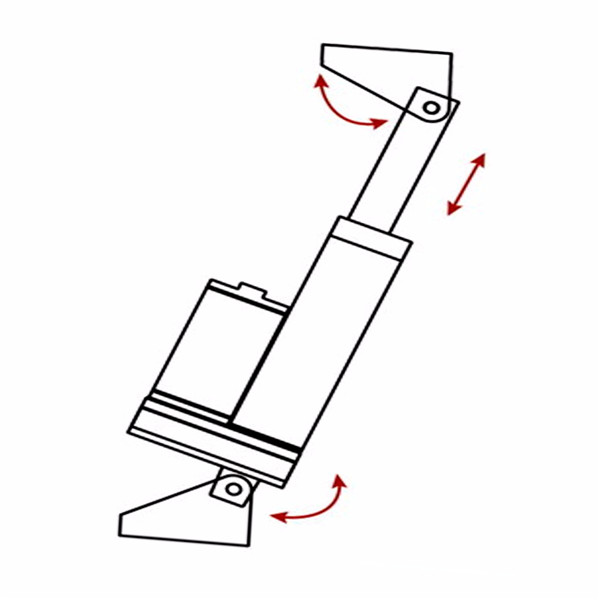 Mounting Bracket for Linear Actuator Motor