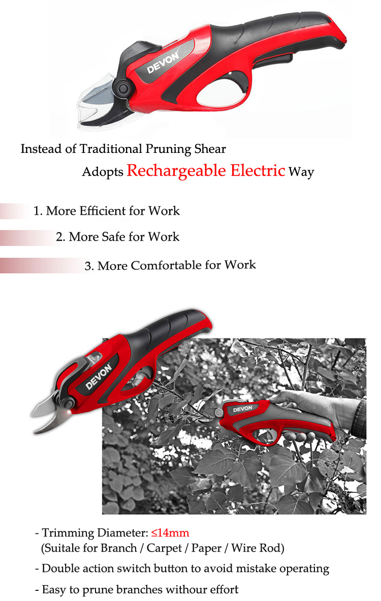garden electric pruning shear