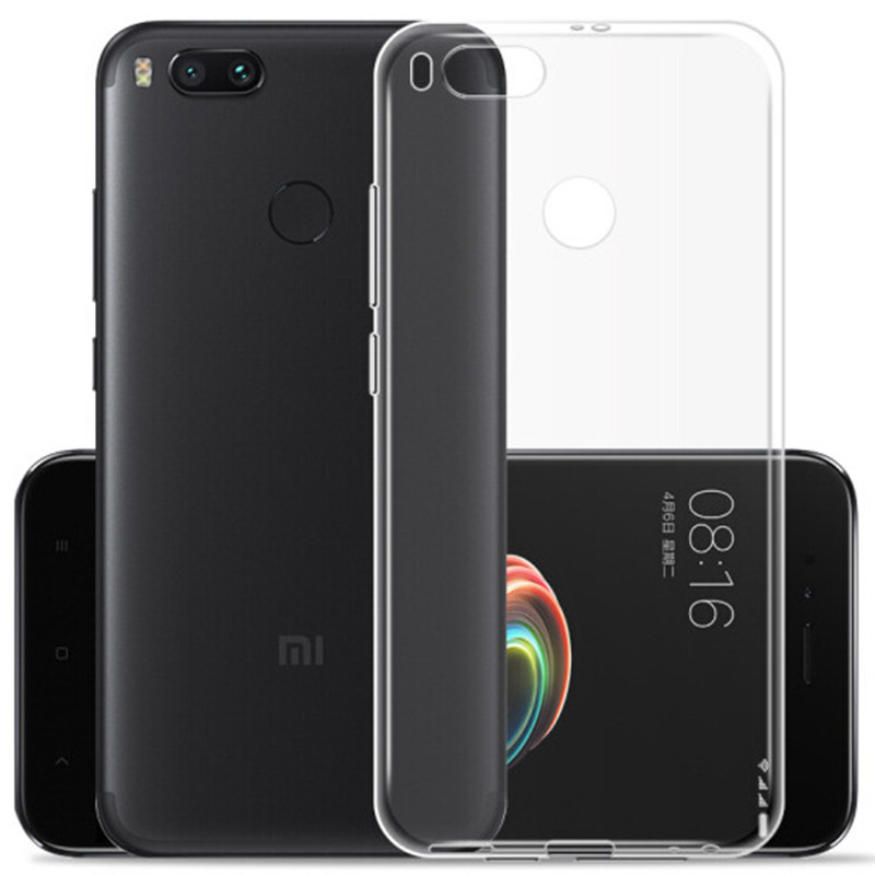 Bakeey Ultra Thin Transparent Soft TPU Protective Case For Xiaomi Mi 5X Mi5x - Xiaomi Mi A1