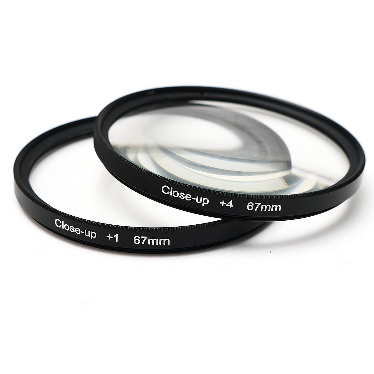 67 mm Close-Up Macro Lens Filters Kit