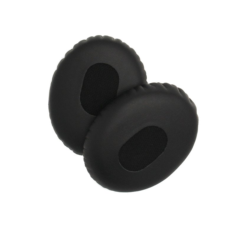 1 Pair Black Replacement On-ear Foam Earmuffs Pads Cushion for Headphone Headset Quiet Comfort3 QC3