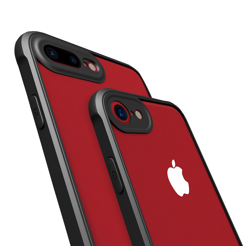 Air Cushion Voice Conversion Crystal Case For iPhone 7