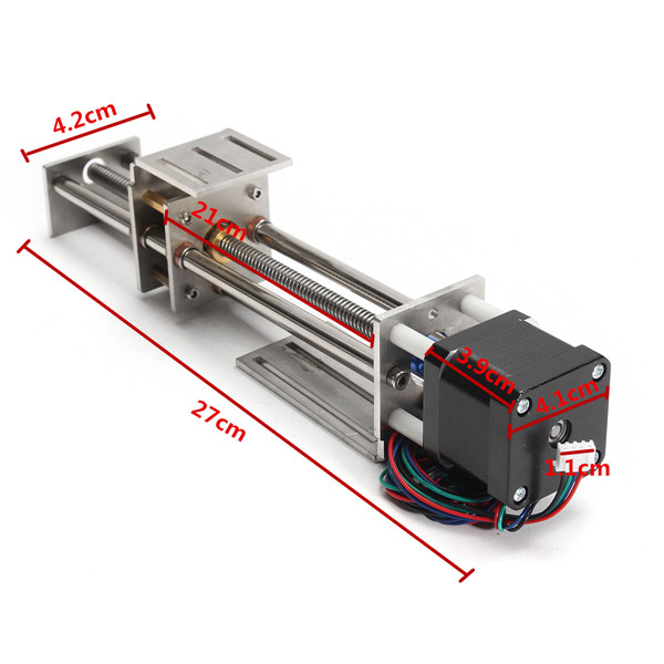 150mm Slide Stroke Z Axis Mini CNC Linear Motion Milling Engraving Machine