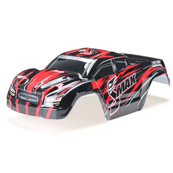 REMO D3602 1/16 Red Monster Truck Body Shell RC Car Par