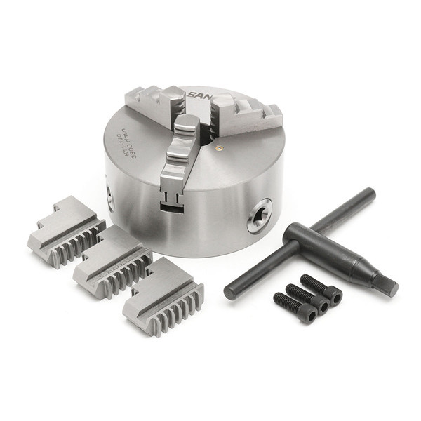 130mm 3 Jaw Self Centering Lathe Chuck with Key