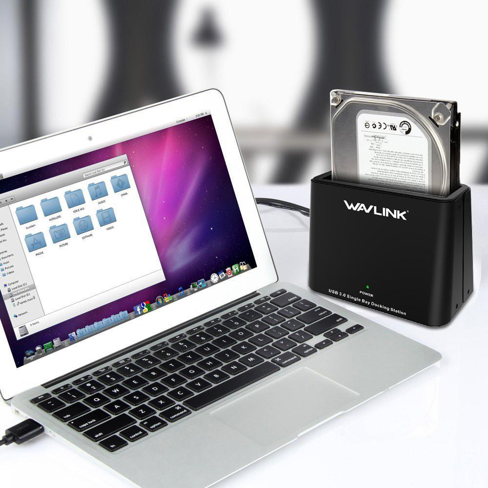 Wavlink WL-ST333U USB 3.0 to SATA Single Bay 6TB Hard D