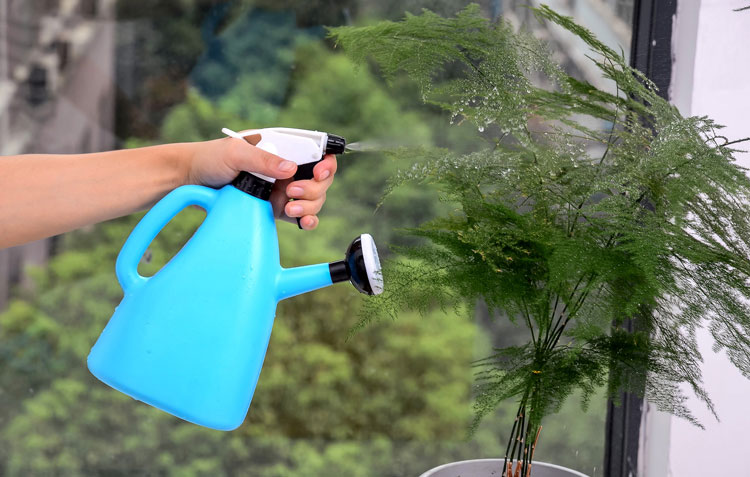 gardening dual use adjustable watering can