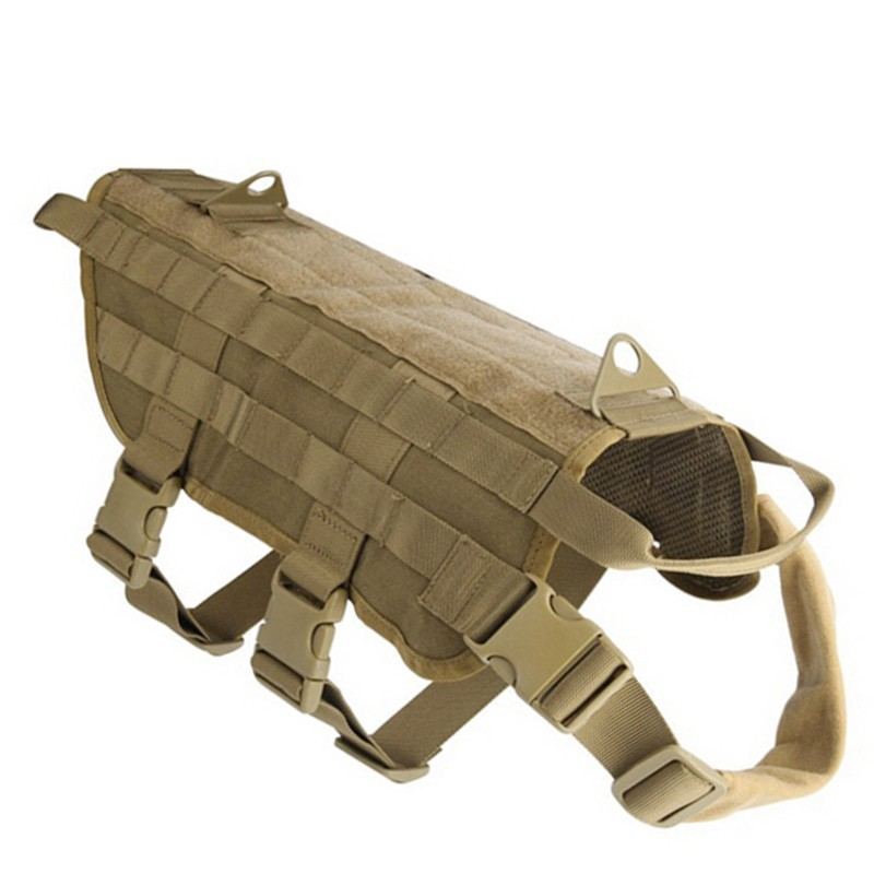 Hunting Military Tactical Patrol Dog VesT Training Harn
