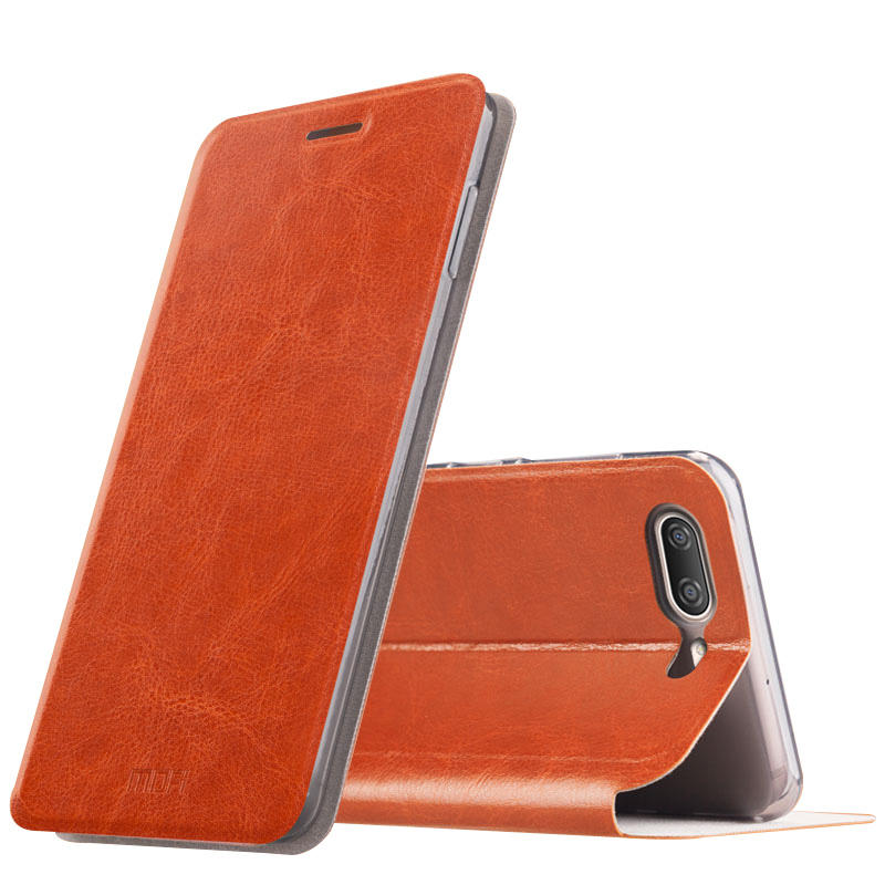 MOFI Flip PU Leather Smart Sleep Stand Cover Case For OnePlus 5