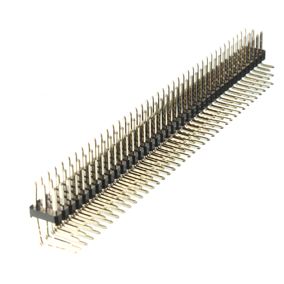 2.54mm 3x40P Male Pins Three Row