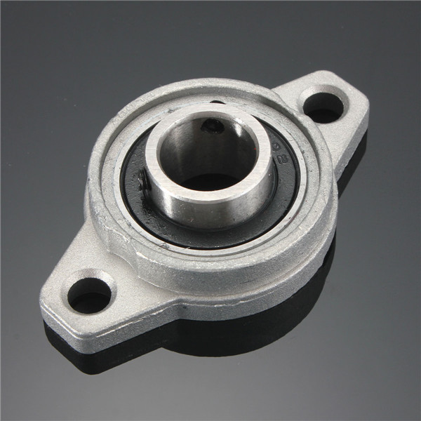 8/10/12/15/17mm Bore Diameter Zinc Alloy Pillow Block Flange Bearing KFL Series