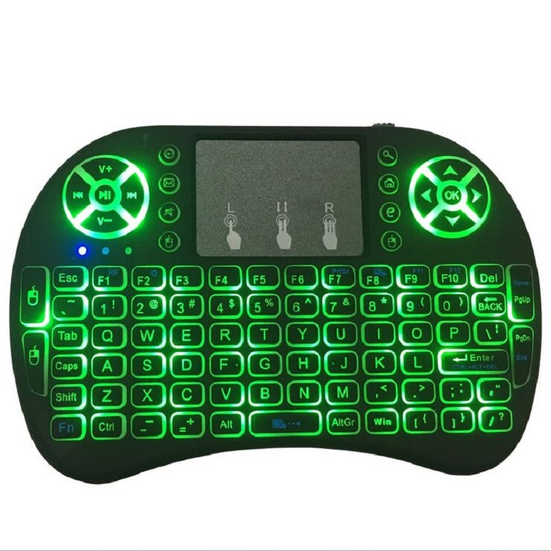 i8 three color backlit air mouse