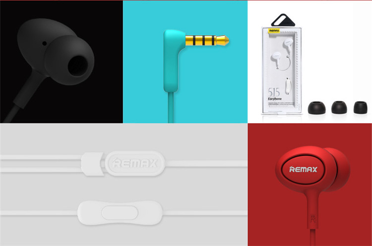 REMAX 515 Earphone Details
