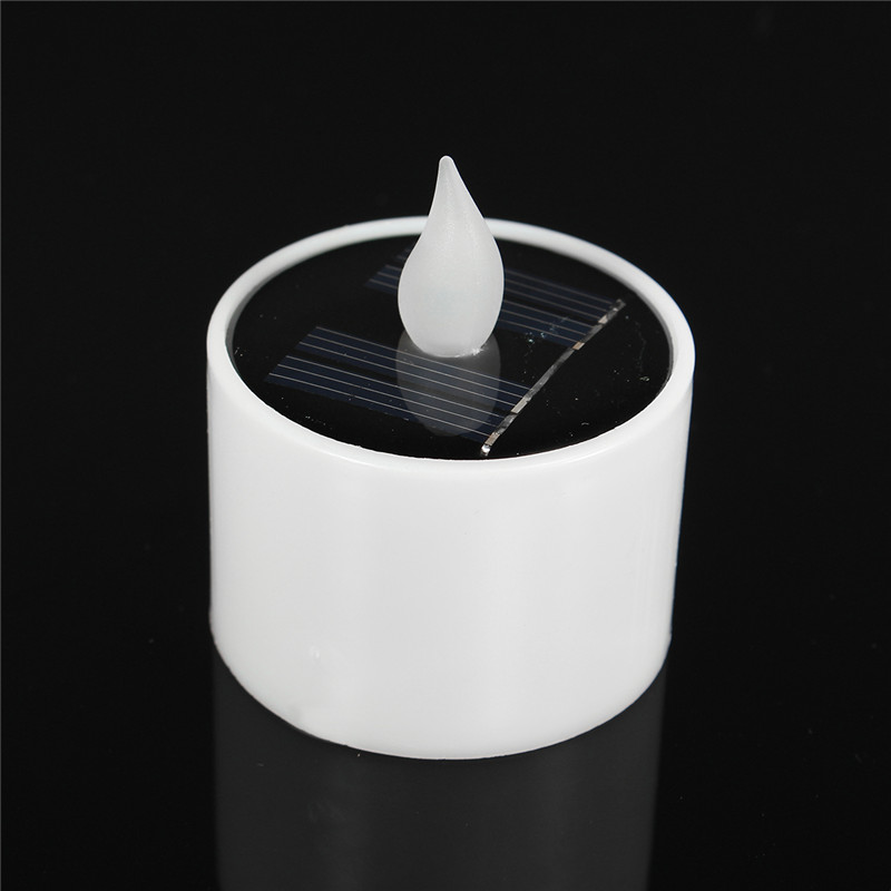Solar Powered LED Flameless Candles Lights Energy-Saving Toys Children Teaching Fun Gift