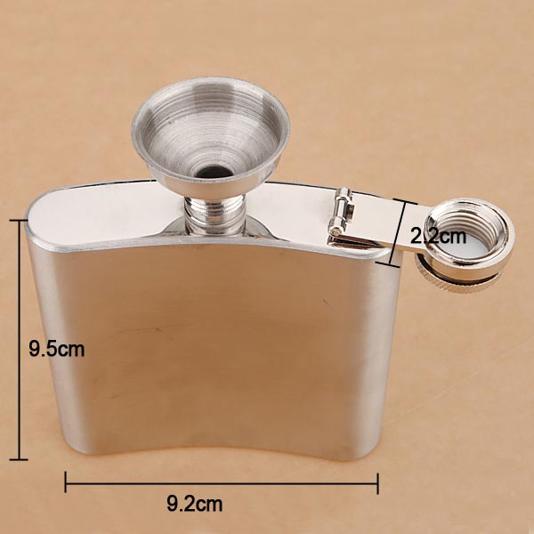 stainless steel hip flasks