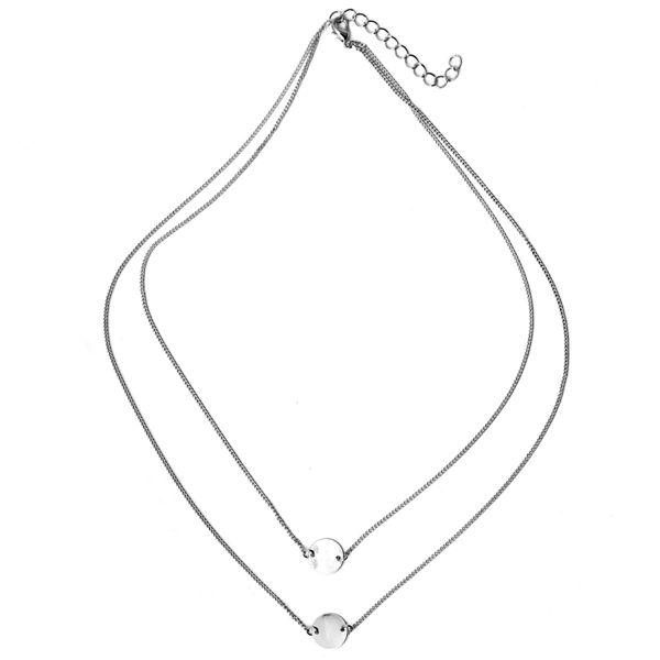Leaves Brid Pendant Necklace