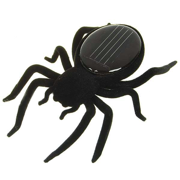 Educational Solar powered Spider Robot Toy Gadget Gift
