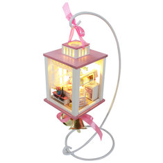 Hoomeda Display Showing Stand Support Frame For DIY Dollhouse M022 M023 Wind Chime Bell