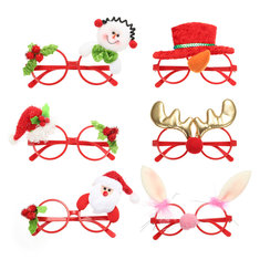Christmas Party Home Decoration Cartoon Spectacle Frame For Kids Children Gift Toys