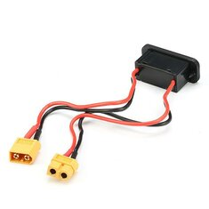 High Current LiPo Battery Switch With Optional T Plug/XT60/EC3 Plug