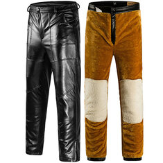 Casual Loose Straight Motorcycle Pants