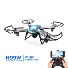 Eachine H99W WIFI FPV With 2.0MP 720p HD Camera 2.4G 6 Axis Headless Mode RC Quadcopter RTF
