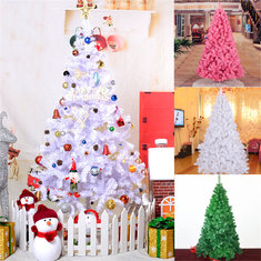 Christmas Party Home Decoration 2.1M Multicolor Tree With Iron Feet Ornament Toys Kids Children Gift