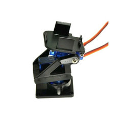 Two DOF Robot PTZ FPV Dedicated Nylon PTZ Kit With Two 9G Precision 160 Degree Servo