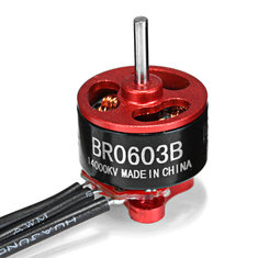 Racerstar Racing Edition 0603 BR0603B 16000KV 14000KV 1-2S Brushless Motor For RC Drone Frame Kit
