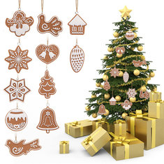 Christmas Tree Decoration Cartoon Biscuits Hanging Ornaments Polymer Clay