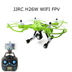 JJRC H26W WIFI FPV With 720P Camera Headless Mode One Key Return RC Drone Quadcopter RTF