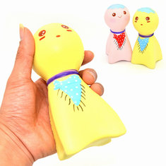 Kiibru Squishy Sunny Doll 14cm Slow Rising Original Packaging Collection Gift Decor Soft Squeeze Toy