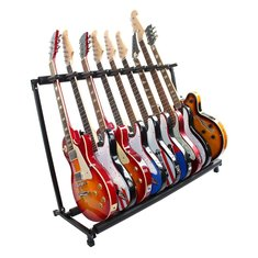 GS-9 Multifunctional Guitar Holder Musical Instrument Guitar Folding Rack