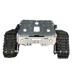 Metal Aluminum Alloy Smart Robot Tank Chassis Kits RC Tracked Car