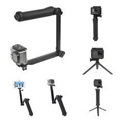 SHOOT XTGP217 Foldable Multi-functional 3-Way Grip Arm Monopod Stand Mini Tripod Selfie