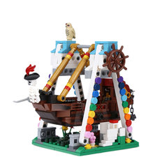 XINGBAO Pirate Ship Building Block Educational Gift 01109 Fidget Toys 520Pcs