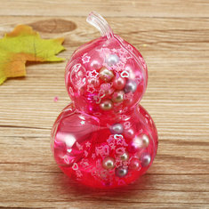 Calabash Cucurbit Slime With Pearl Ball Simulated Crystal Mud Transparent Crystal Soil Clay Vent Toy