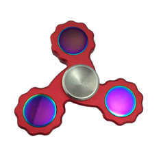 Gear Colorful Rotating Fidget Hand Spinner ADHD Autism Fingertips Fingers Gyro Reduce Stress