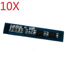 10X HX-2S-02 3A Protection Board For 2S 7.4V 8.4V Lipo Battery