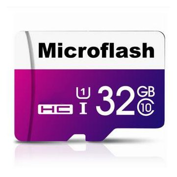 Buy Microflash 32GB High Speed SDHC Card Class 10 TF Card Flash Memory Card for Cell Phone for $19.99 in Banggood store