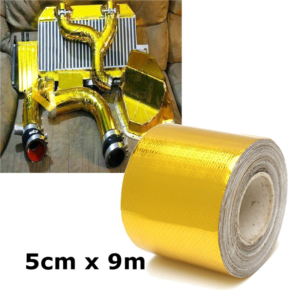 Adhesive GOLD High Temperature Heat Shield Wrap Tape