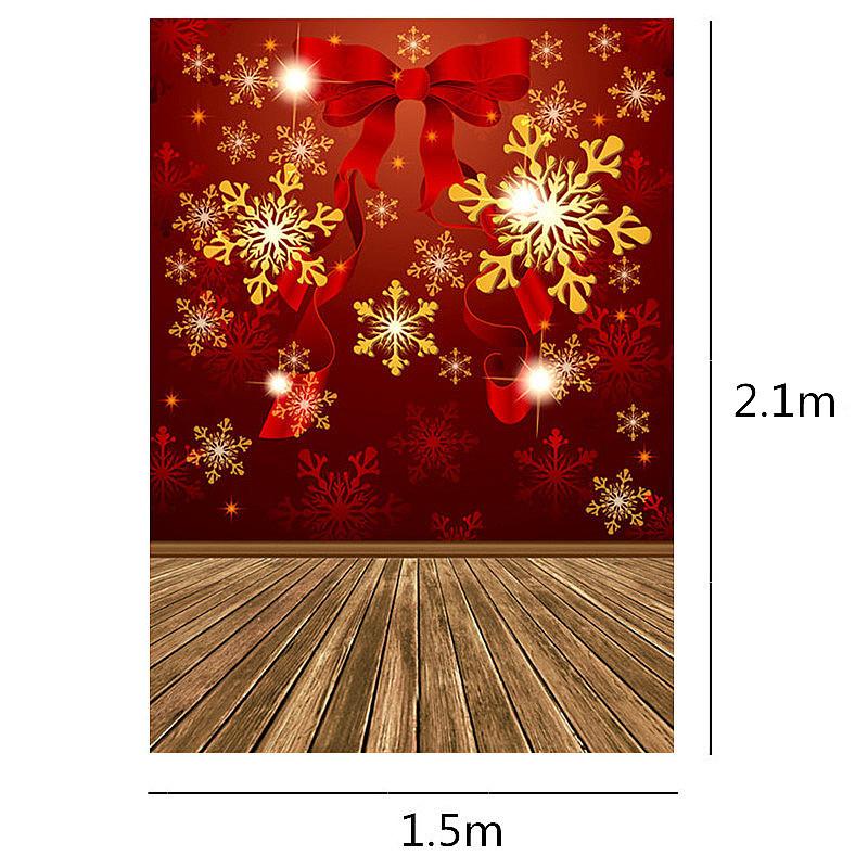 Szövet háttér fotózáshoz.Karácsonyi stúdió háttér 2.1 x 1.5m