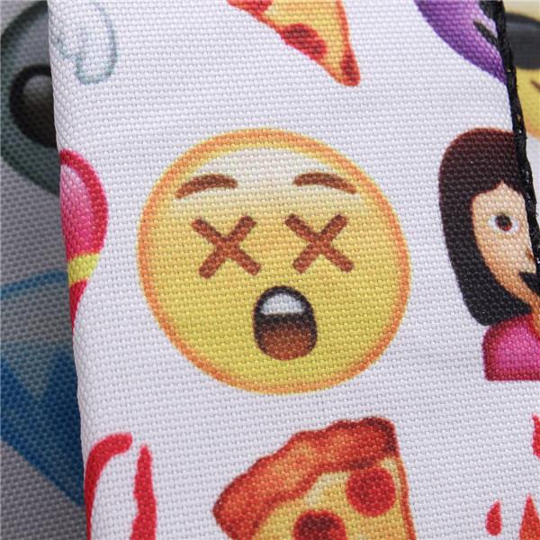 Emoji Canvas Backpack