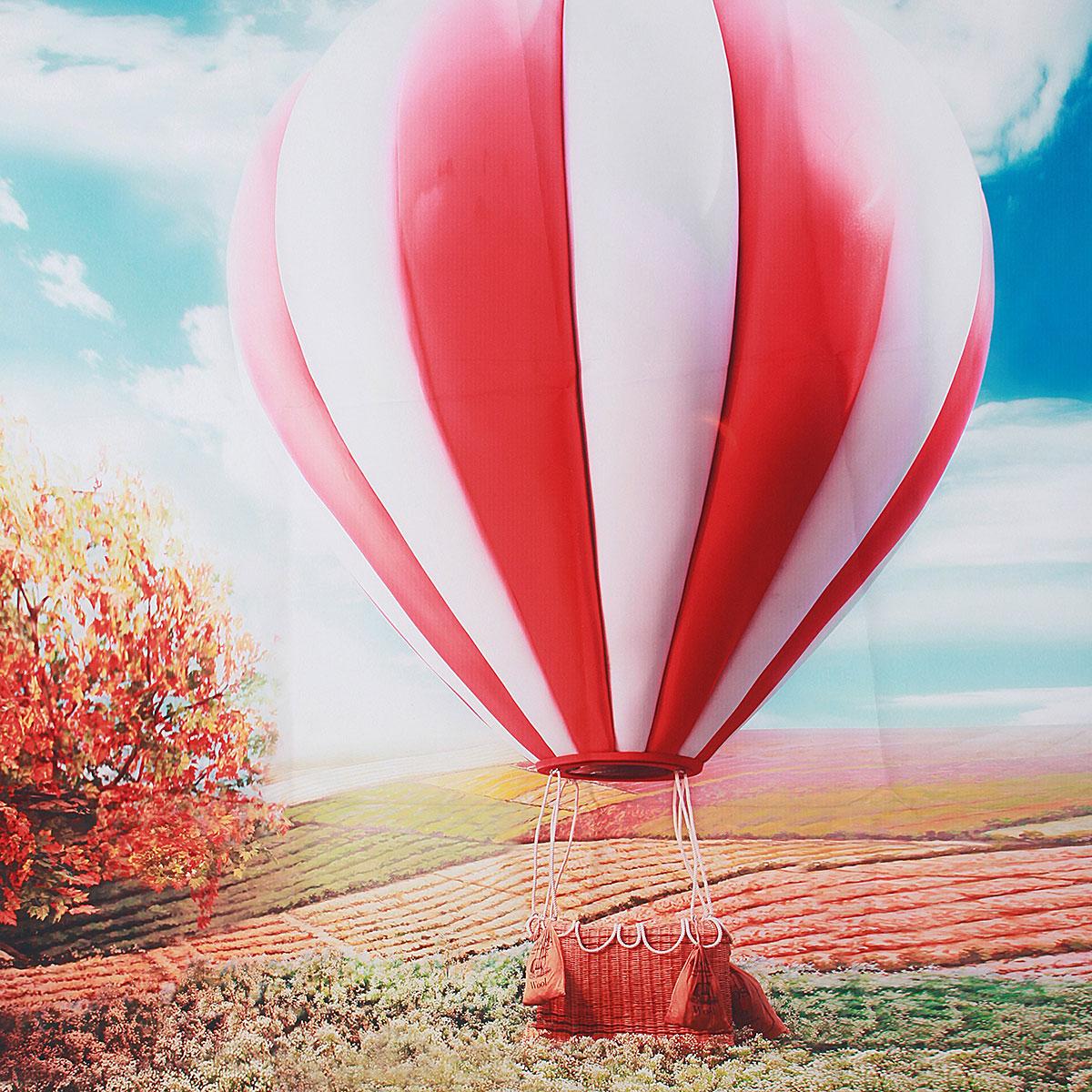 Szövet háttér fotózáshoz.Légballont ábrázoló fotó háttér 1 x 1.5M 1186224