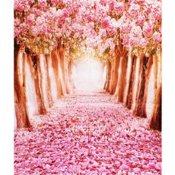 Szövet háttér fotózáshoz.Virágok ábrázoló studió háttér 2 x 1.5m d0116