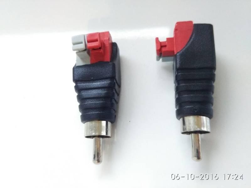 C 226 Ble De Fil Haut Parleur Adaptateur De Connecteur Rca